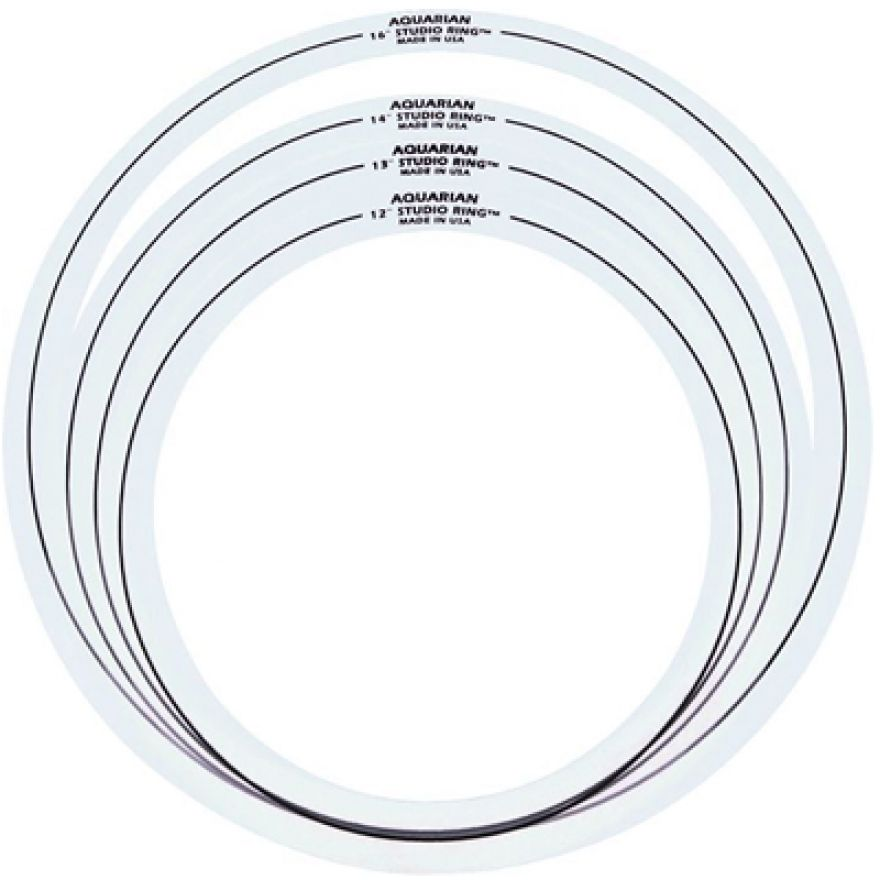 AQUARIAN SR SET-1 SET DI RINGS PER TOM/RULLANTE/TIMPANO(1213..