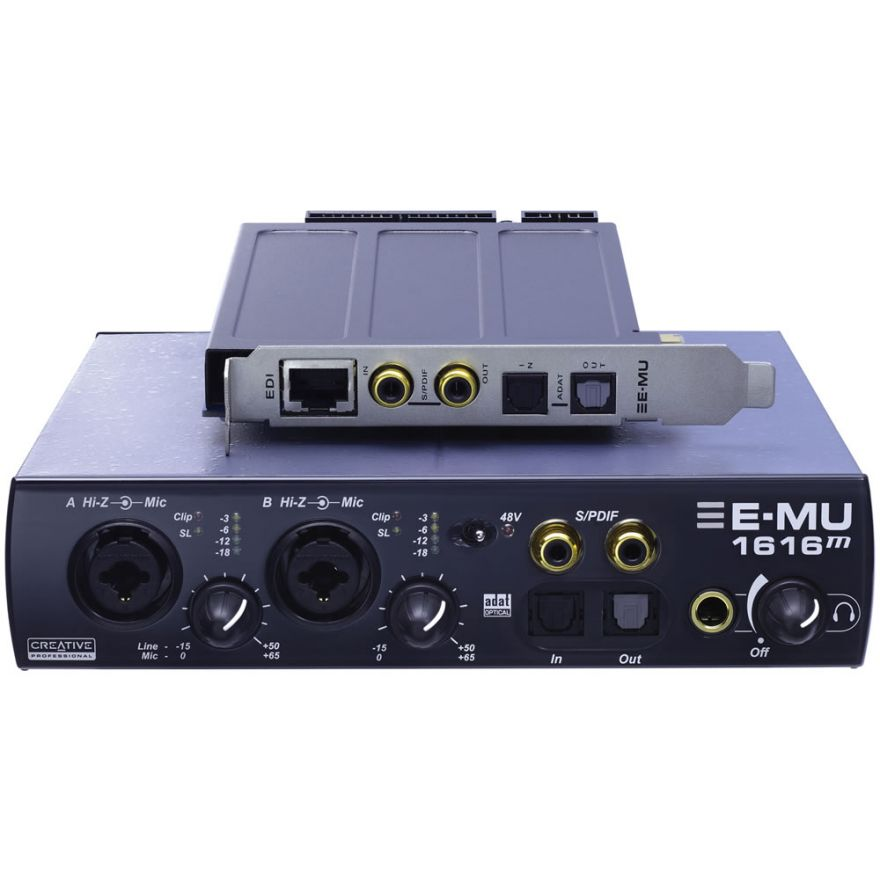 E-MU 1616M PCIe - SCHEDA AUDIO PCI EXPRESS MULTICANALE PER PC