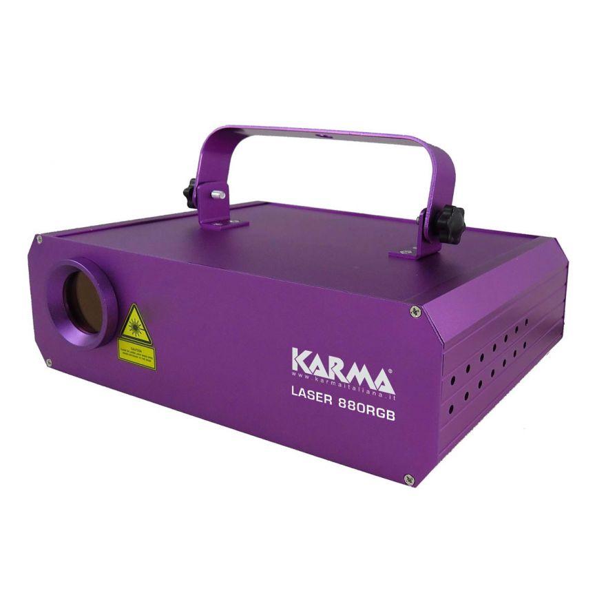 KARMA LASER 880RGB - LASER RGB 880MW