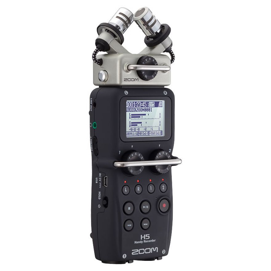 0-ZOOM H5 - REGISTRATORE DI