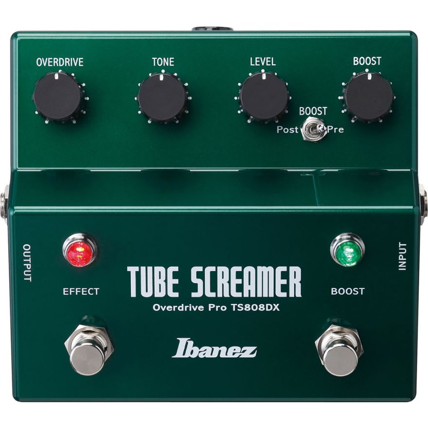 0-IBANEZ TS808DX Tube Screa