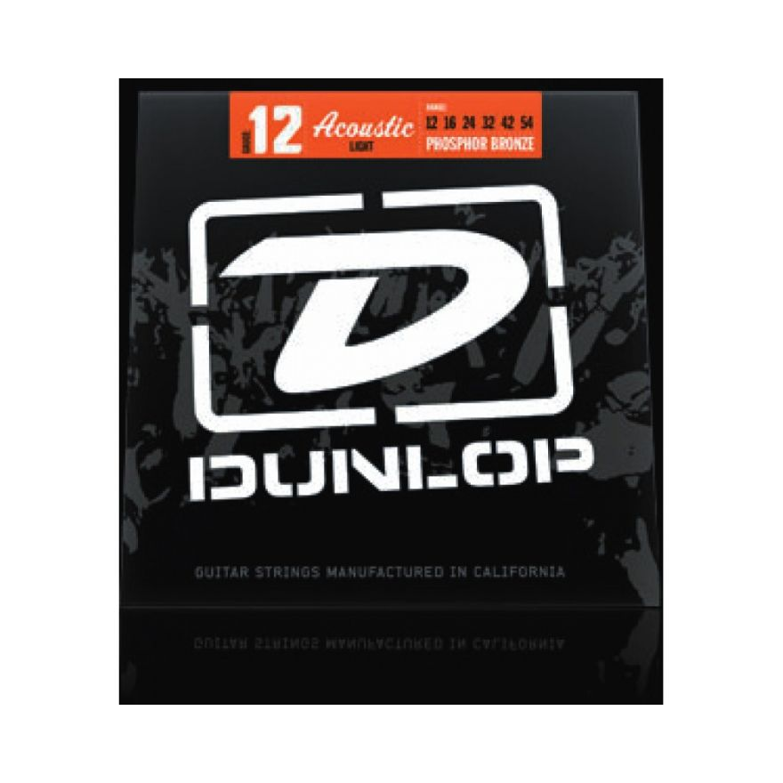 Dunlop ZWP 1254 Acoustic Ph. B Light 6/Set