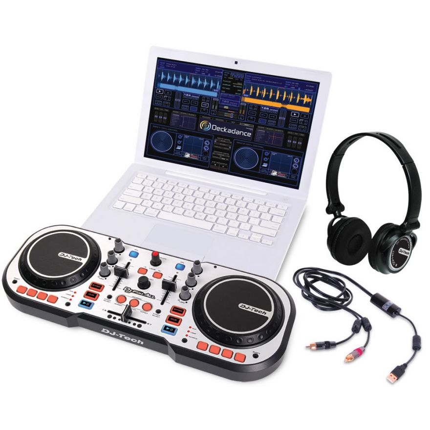 DJ TECH DJ FOR ALL Sistema Completo per DJ