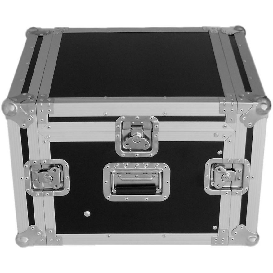 Y-CASE 6MR - FLIGHT CASE RACK 6U + MIXER