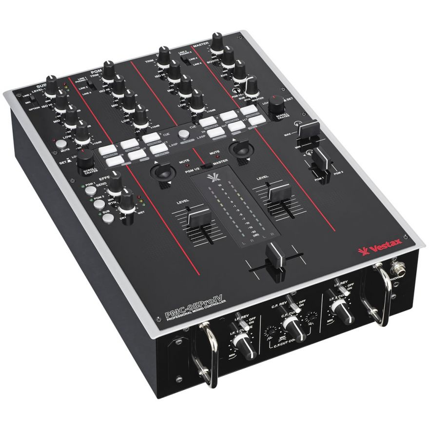 VESTAX PMC05 Pro IV BLACK - MIXER MIDI PER DJ