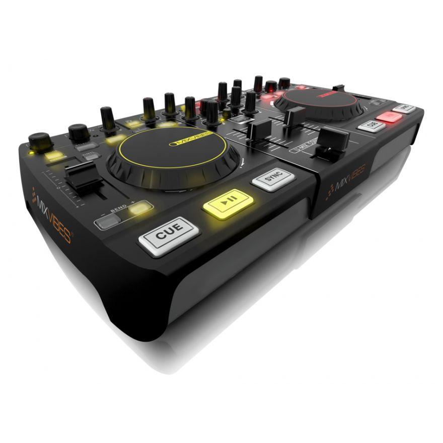 MIXVIBES U-MIX CONTROL 2 - CONTROLLER MIDI USB PER DJ
