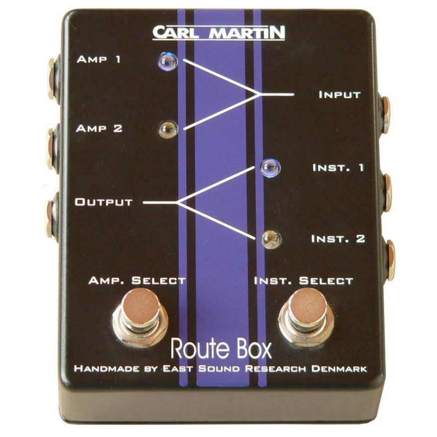 CARL MARTIN ROUTE BOX - SWITCH PER CHITARRA
