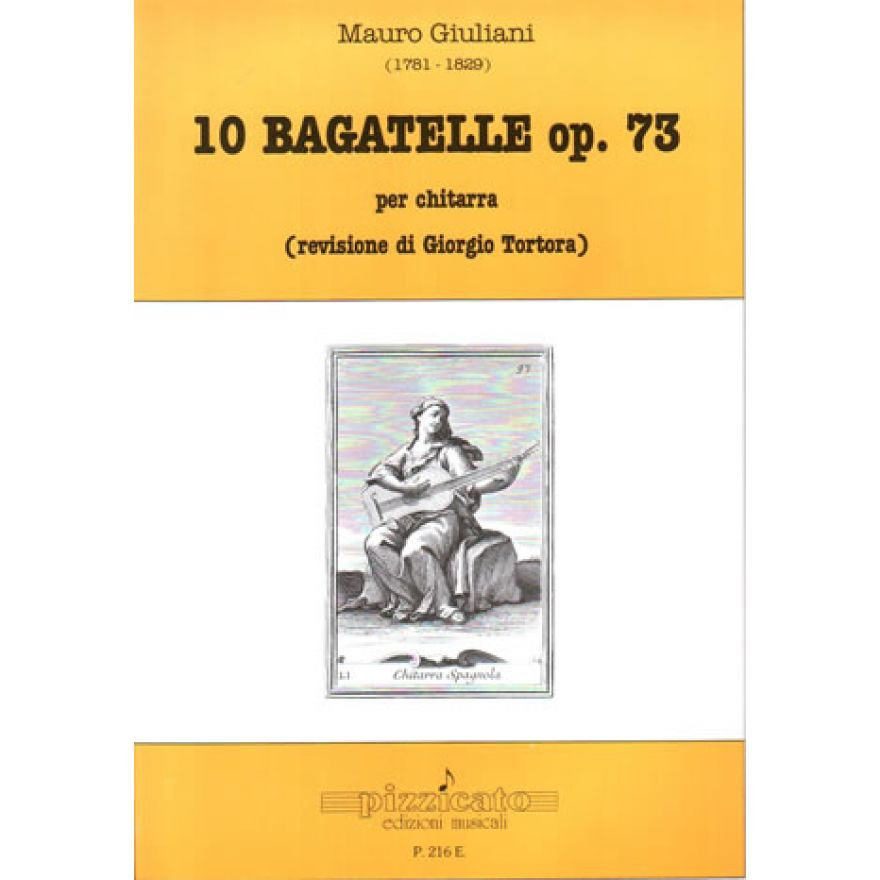 PIZZICATO Giuliani Mauro - 10 BAGATELLE Op. 37