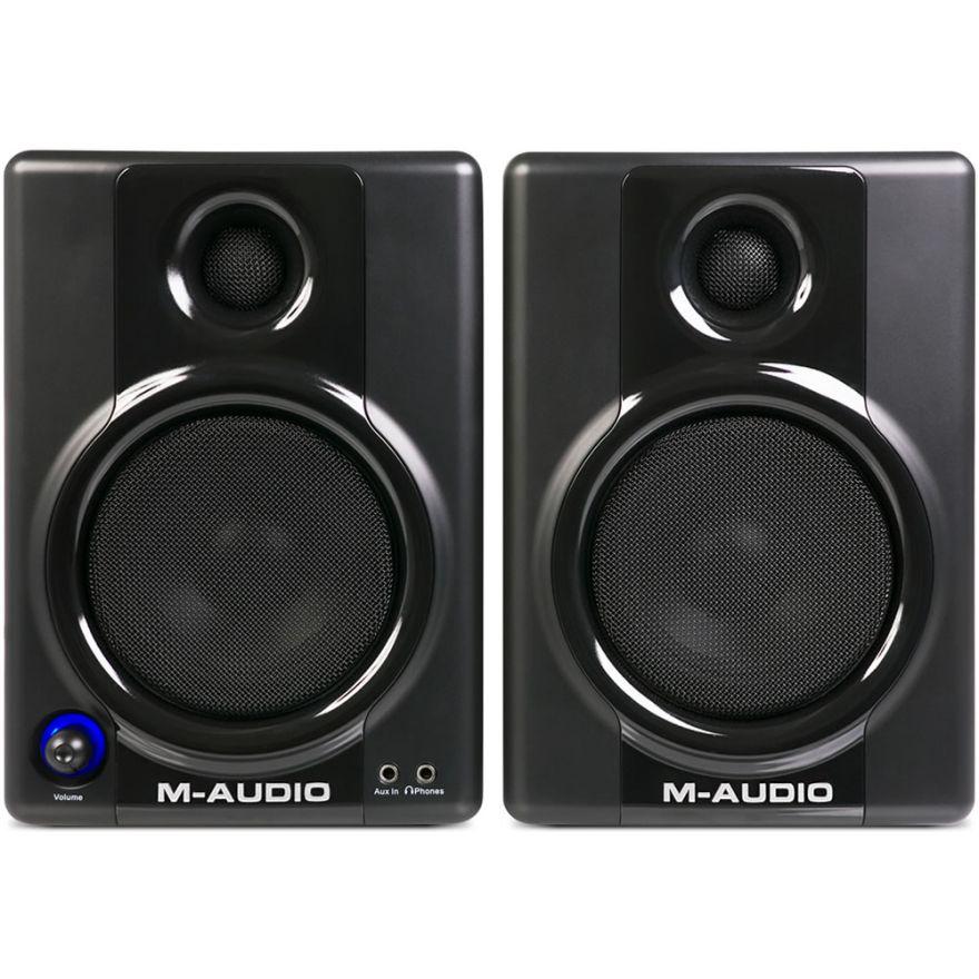 M-AUDIO STUDIOPHILE AV40 (COPPIA) - MONITOR AUDIO PROFESSIONALI