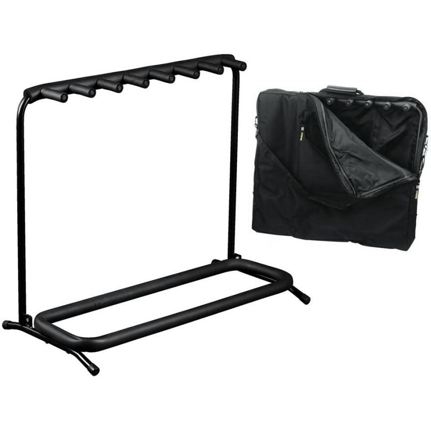 ROCKSTAND RS20862B/B/2 Stand per 7 strumenti con borsa
