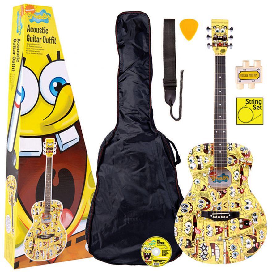 0-SpongeBob KIT Chitarra Ac