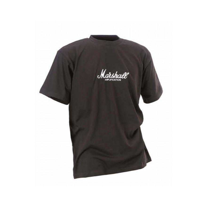 MARSHALL Crew - Neck T-shirt con Logo Grande (L) -  SHRT00070