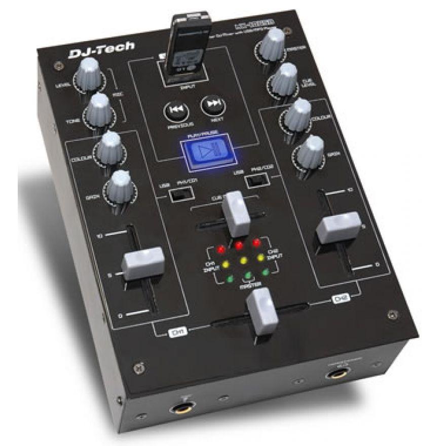 DJ TECH MX10 USB - MIXER PER DJ
