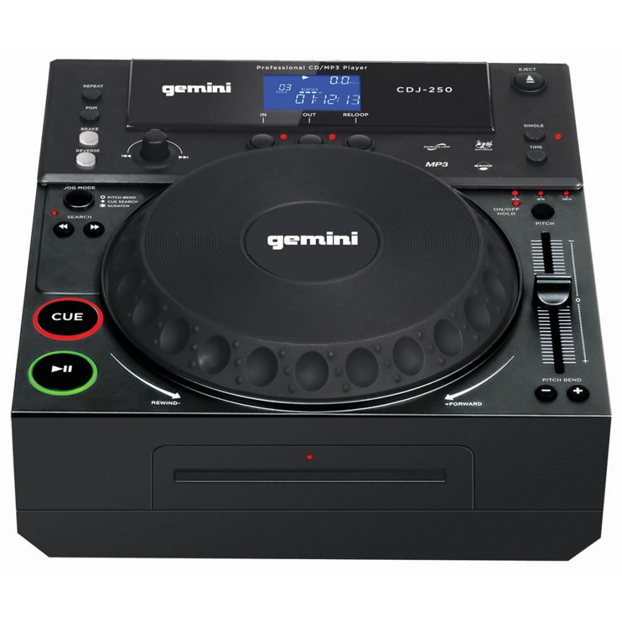 GEMINI CDJ 250 - LETTORE CD MP3 per Dj