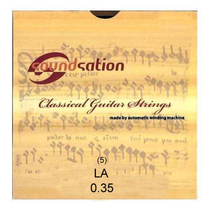 SOUNDSATION SC132-5 - Singola per classica LA (5)
