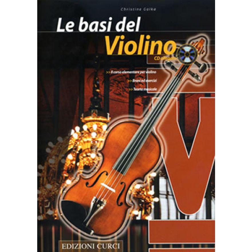 CURCI GALKA Christine - LE BASI DEL VIOLINO (+CD)