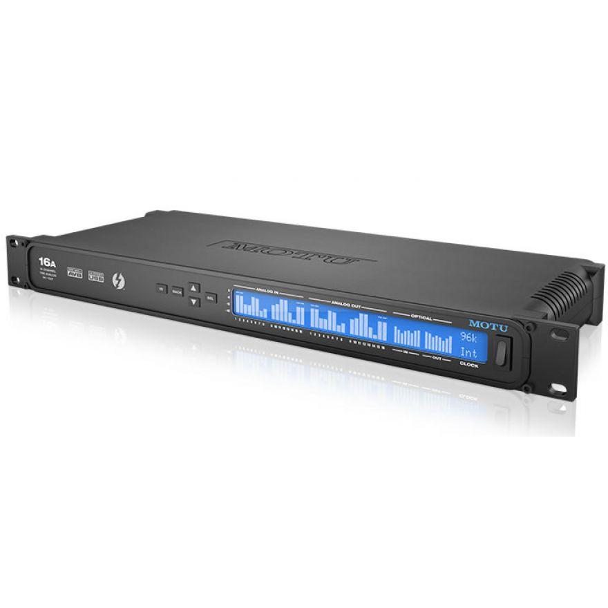 MOTU 16A - INTERFACCIA AUDIO THUNDERBOLT / AVB / USB