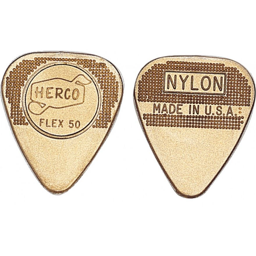 Dunlop HE210P Herco Flat Gold - Medium