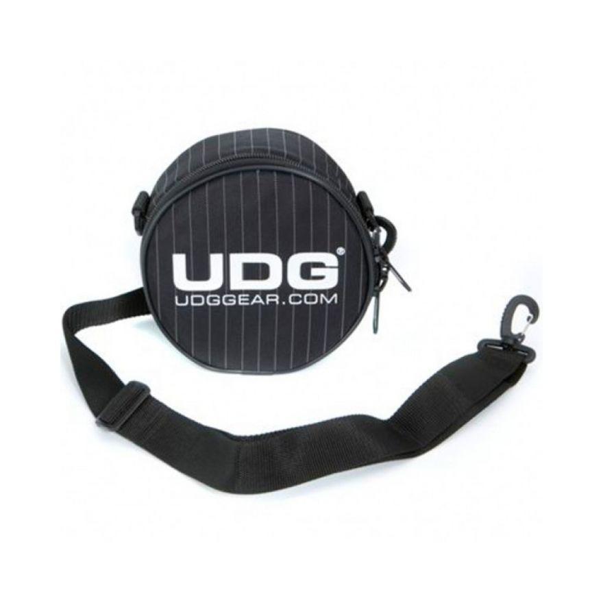 UDG HEADPHONE BAG BLACK GREY STRIPE