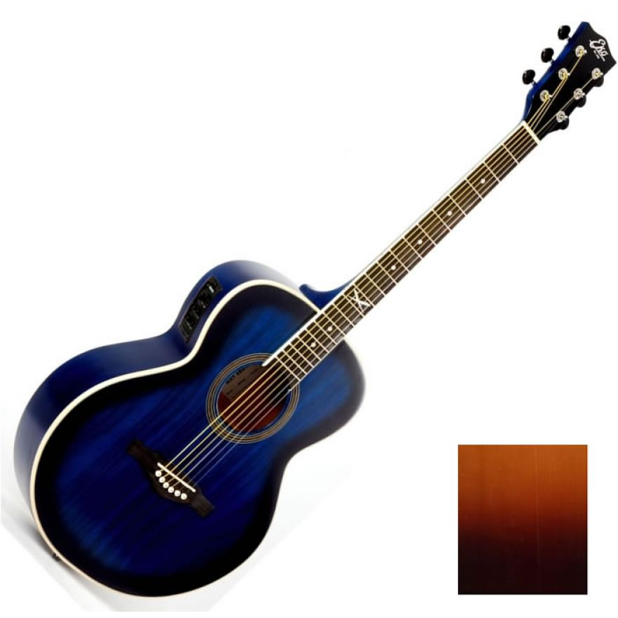 EKO NEXT 018 CW-EQ BROWN SUNBURST - CHITARRA ELETTROACUSTICA