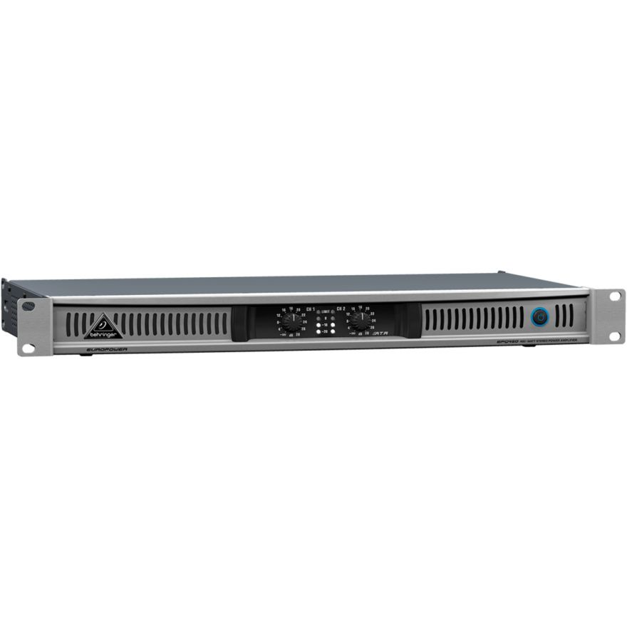 BEHRINGER EPQ450 Europower - AMPLIFICATORE DI POTENZA 460W 2Ch