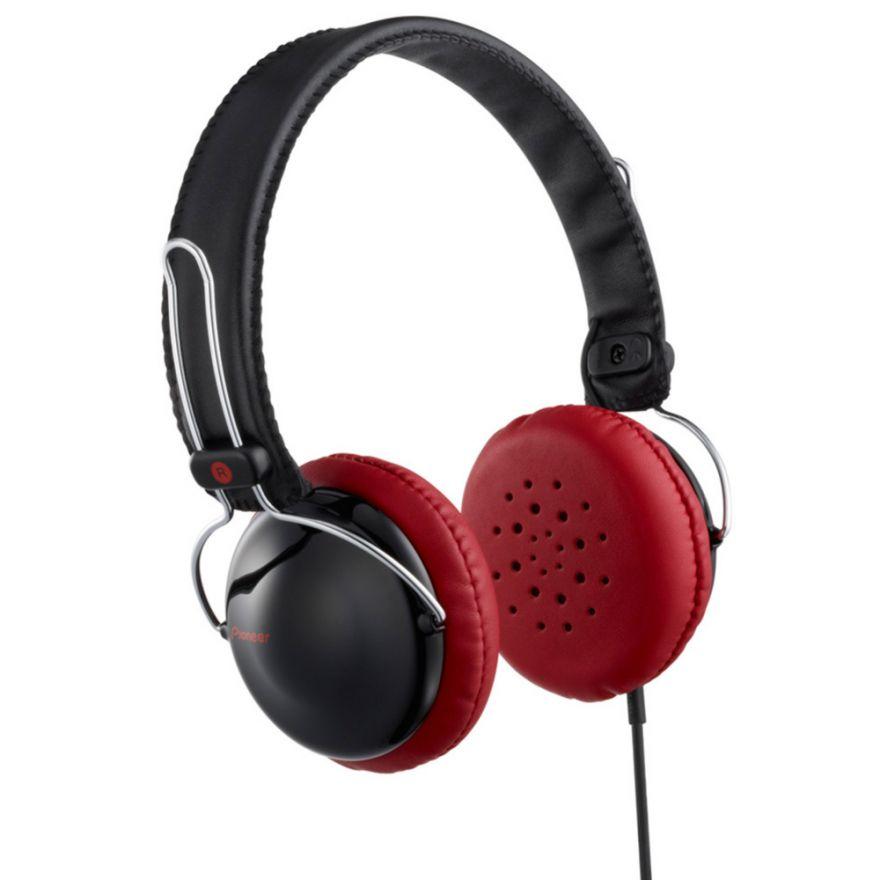PIONEER SE-MJ151K Red - CUFFIE DINAMICHE