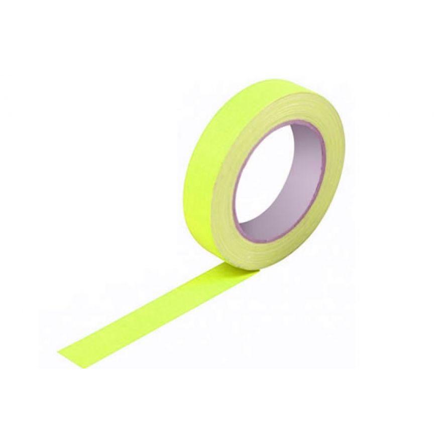 PROEL GAFFAYEF25 - gaffa tape professionale fluorescente in tessuto