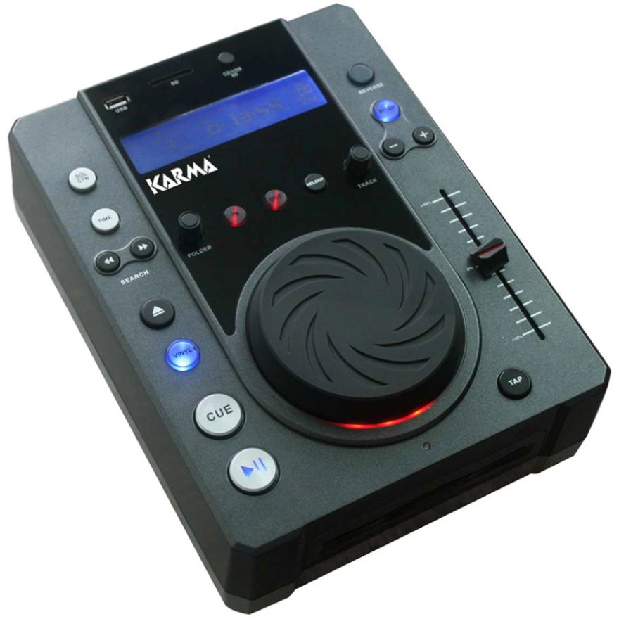 KARMA CDJ 170 - LETTORE CD CON Mp3