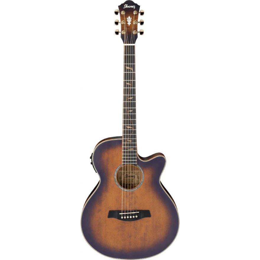 Ibanez AEG40II-OAB  - open pore antique brown sunburst