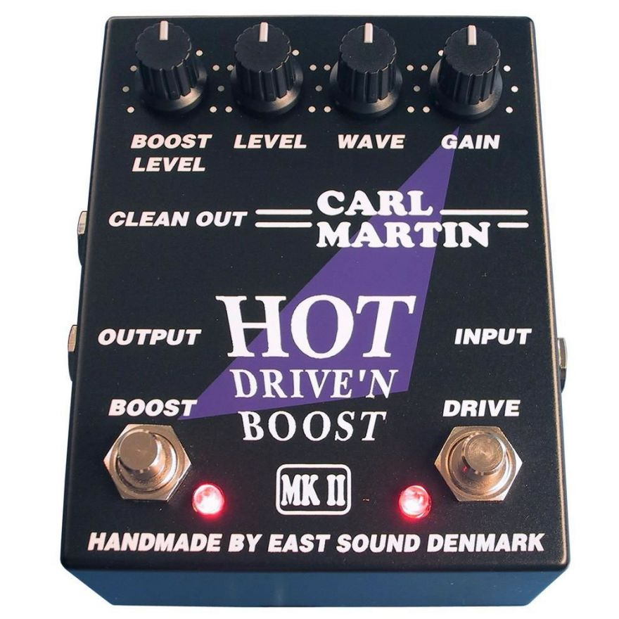 CARL MARTIN HOT DRIVE'N BOOST MKII - OVERDRIVE