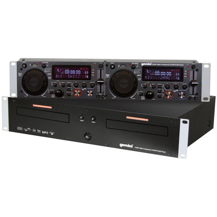 GEMINI CDMP2600 - DOPPPIO LETTORE CD/Mp3/USB