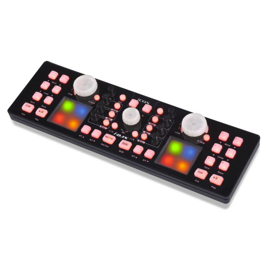0-ICON iDJ X Black - CONTRO