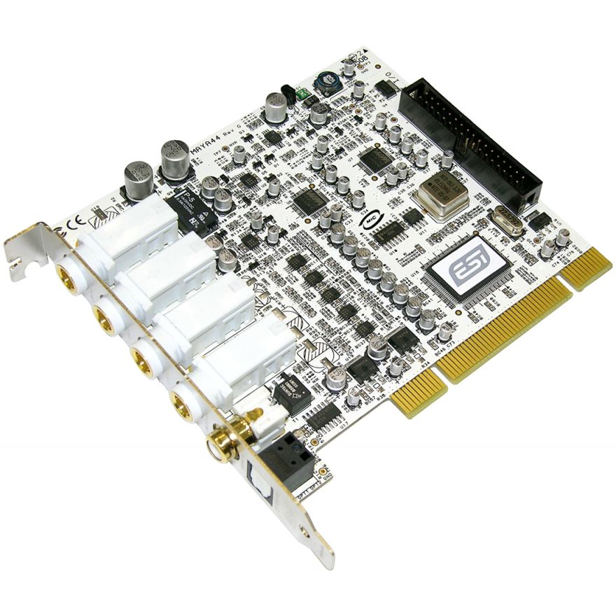 ESI MAYA 44 - SCHEDA AUDIO PCI 4 IN - 4 OUT