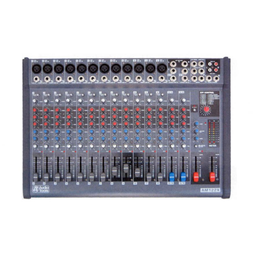 AUDIO TOOLS AM122X - MIXER 12 + 2 INGRESSI CON EFFETTI