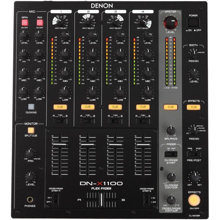 DENON DNX1100 - CLUB MIXER 4 + 2 CANALI