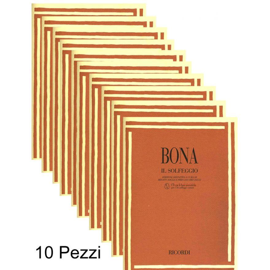 RICORDI BONA,PASQUALE - IL SOLFEGGIO (+CD) 10 pz Sconto Speciale