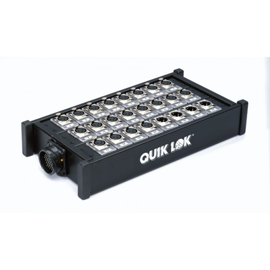 QUIKLOK BOX309 - STAGE BOX AUDIO 20 INPUT/8 OUTPUT