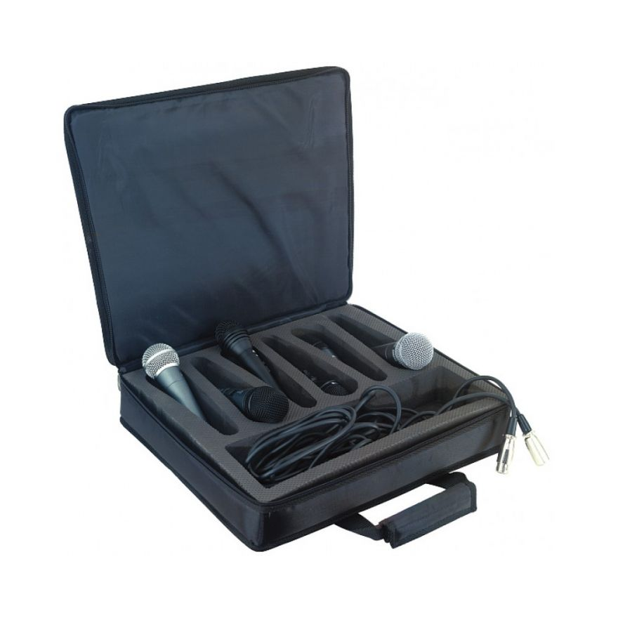ROCKBAG RB23208B - Borsa per 8 microfoni