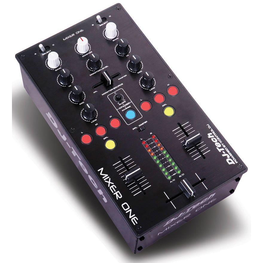 DJ TECH MIXER ONE - CONTROLLER MIDI CON 2 PORTE USB