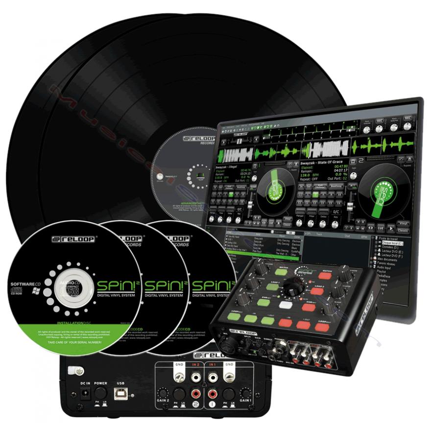 RELOOP SPIN! 2+ PLUS - SISTEMA COMPLETO PER DJ