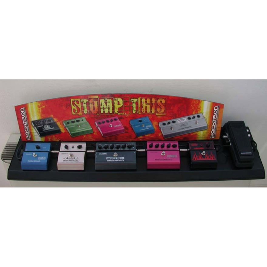 ROCKTRON Zombie Stomp Box Display