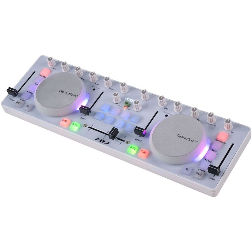 ICON iDJ - CONTROLLER MIDI USB PER DJ