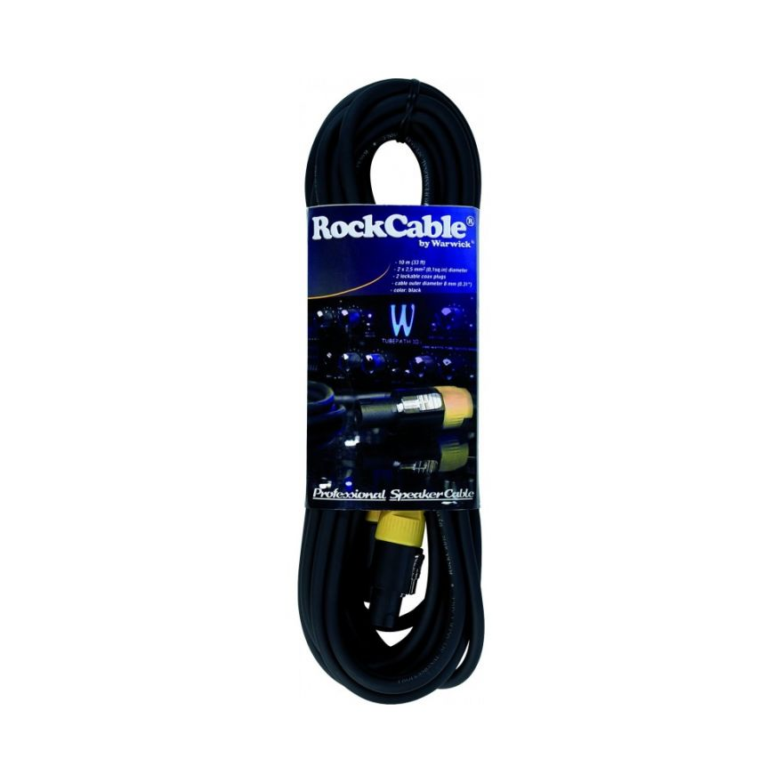 ROCKCABLE RCL 30515 D8 Cavo speak on,  diametro 8 mm, 10m