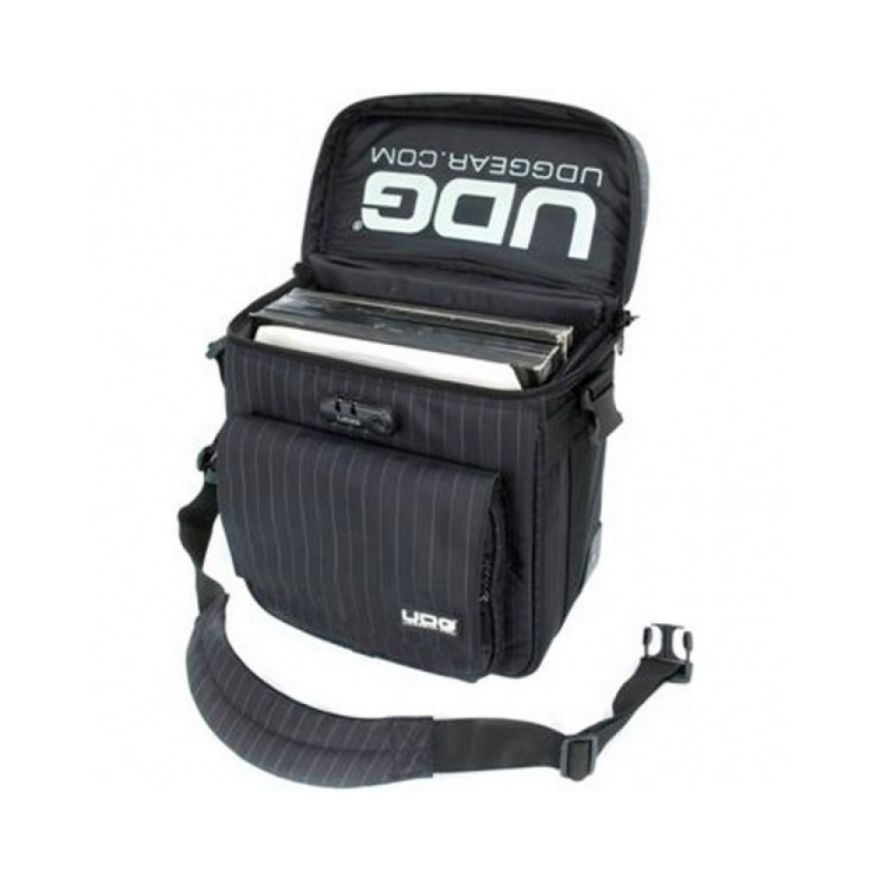 UDG SLINGBAG BLACK GREY STRIPE