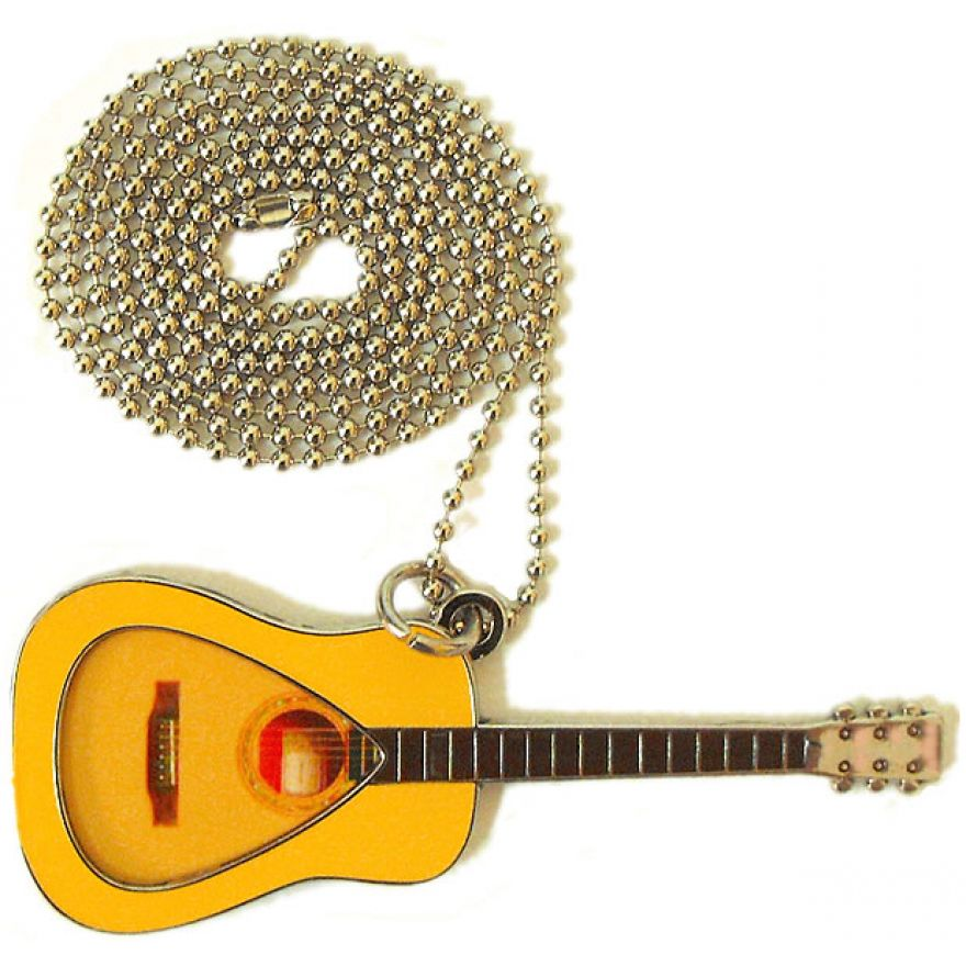 PICKLACE ACOUSTIC GUITAR NECKLACE - COLLANA PORTA PLETTRO