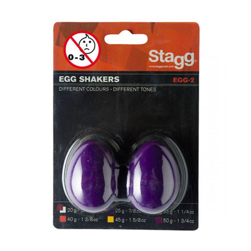 0-STAGG EGG-2 PP - MARACAS
