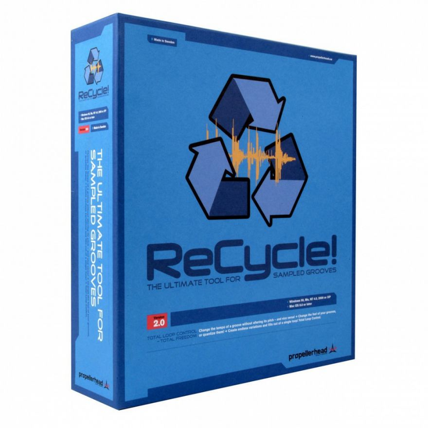 PROPELLERHEAD ReCycle! 2.2