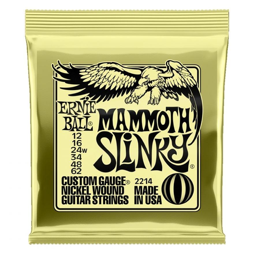 Ernie Ball - 2214 Nickel Wound Mammoth Slinky 12-62