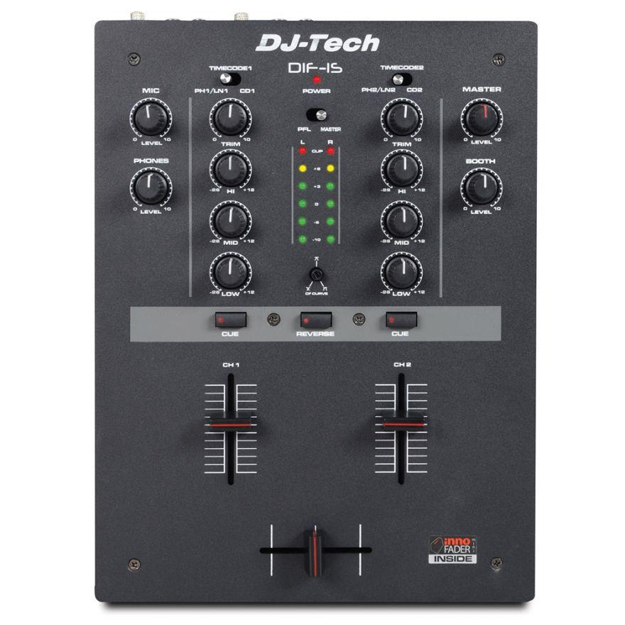 1-DJ TECH DIF-1S - MIXER DJ