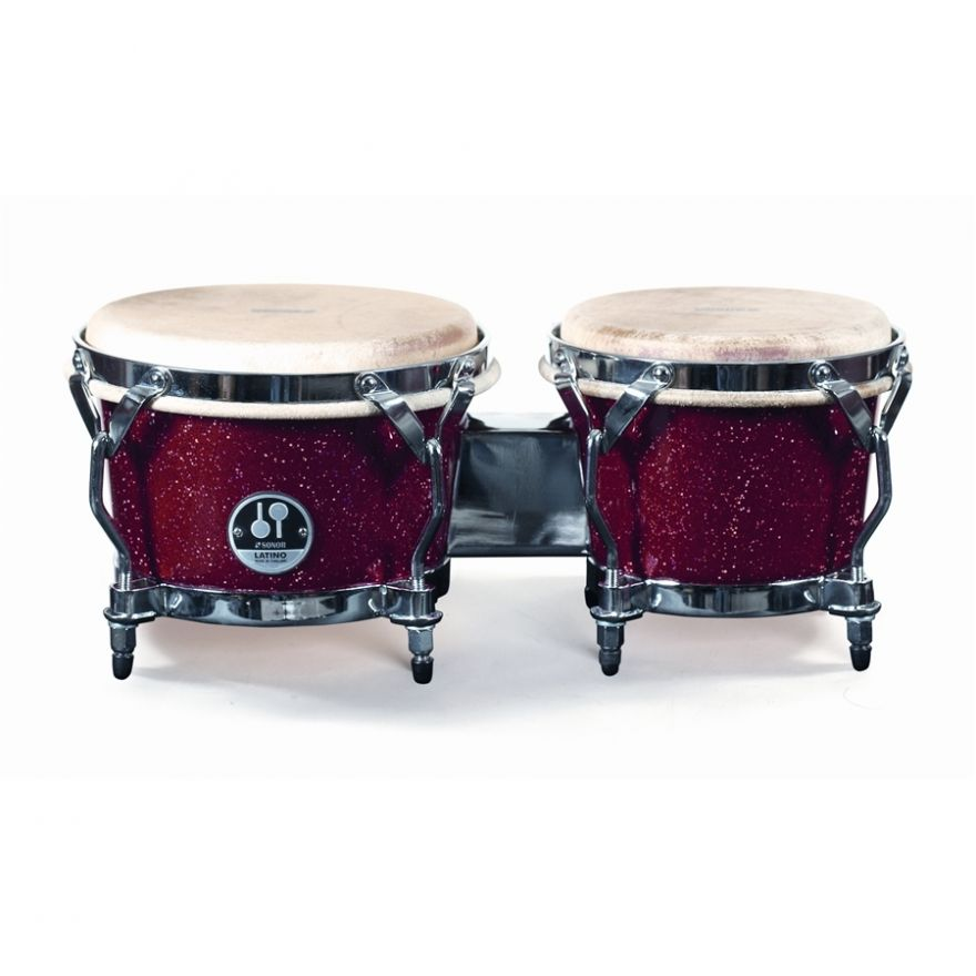 SONOR LBF 7850 RSHG - Coppia di Bongo 7 / 8.5 Red Sparkle